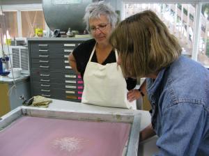 Atelier Presse Papier Trois-Rivières avec Aline Beaudoin