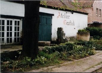 19-atelier d'un artiste flamand à Kasterlee